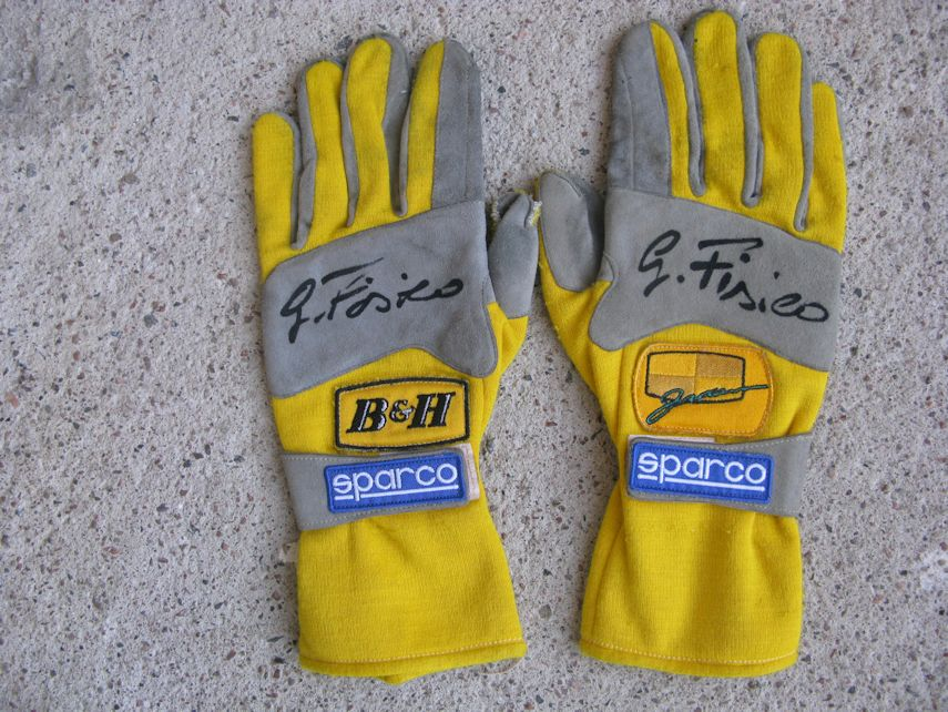 Fisichella gloves