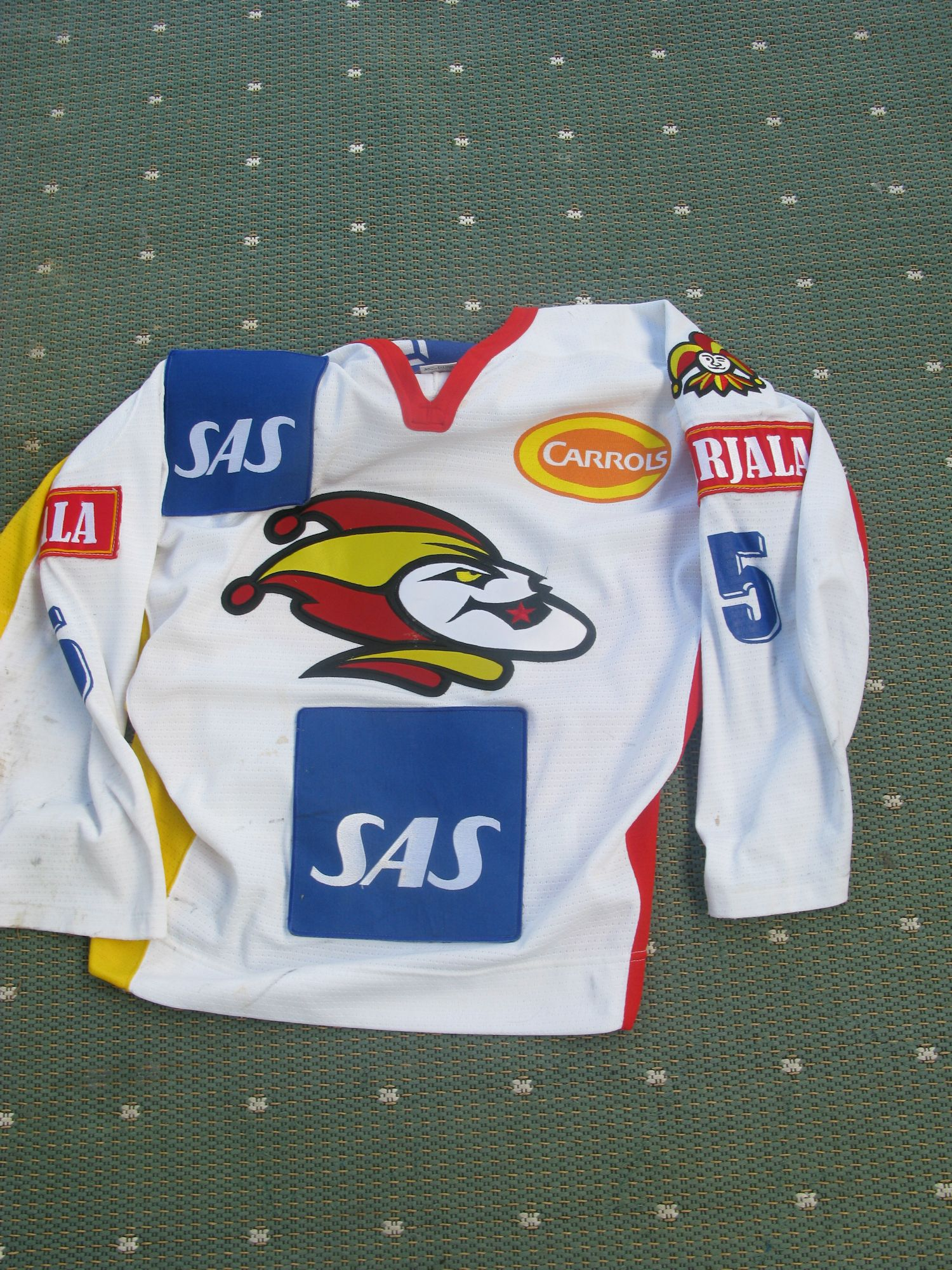 Esa Tikkanen Jokerit Hockey Jersey